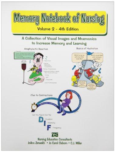 Memory Notebook of Nursing, Volume 2