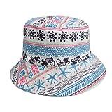 XXDD Sombrero De Protección Solar, Sombrero De Playa De Sol, Sombrero De Pescador De Doble Cara, Algodón UV