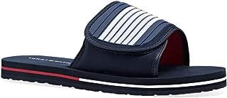 TOMMY HILFIGER Velcro Strap Beach Sandals Men's Velcro Strap Beach Sandals