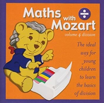 Math With Mozart (Volume 4 - Division)