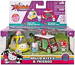 Amazon.com: Hello Kitty & Friends Cupcake Microvan and My ...