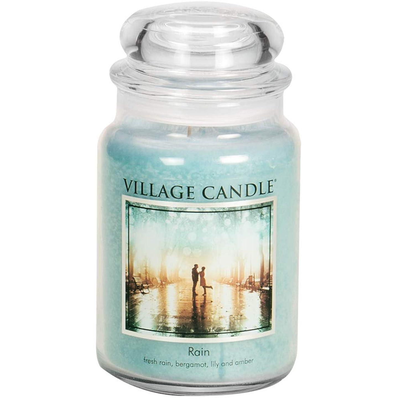 同じインカ帝国華氏Village Candle 106326811 Candle Rain Blue by Village Candle