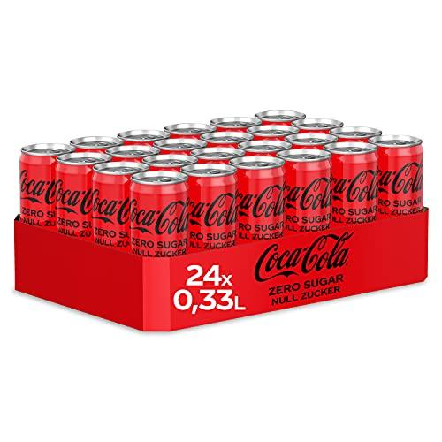 Coca Cola Zero, 24 x 33cl Lata