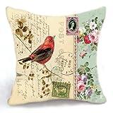 Loool 18x 45,72cm cuadrado lino y algodón decoración del hogar sofá manta...
