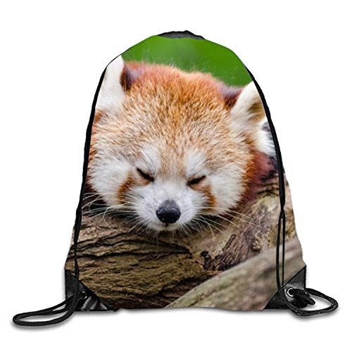 Kordelzug Taschen/Rucksack/Sporttasche, Panda Rouge Unisex Outdoor Gym Sack Bag Travel Drawstring Backpack Bag