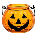 Halloween Pumpkin Tealight Candle Holder