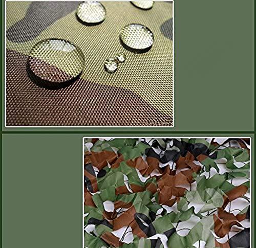 HACSYP Toldos Velas de Sombra Cenadores Paisaje Forestal de Camuflaje, Adecuado for la decoración, Exposición Militar, Paisajismo Red de Sombra (Color : Green, Size : 2x3m)