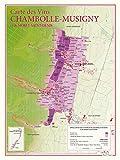Carte des vins de Chambolle-Musigny et De Morey-St-Denis