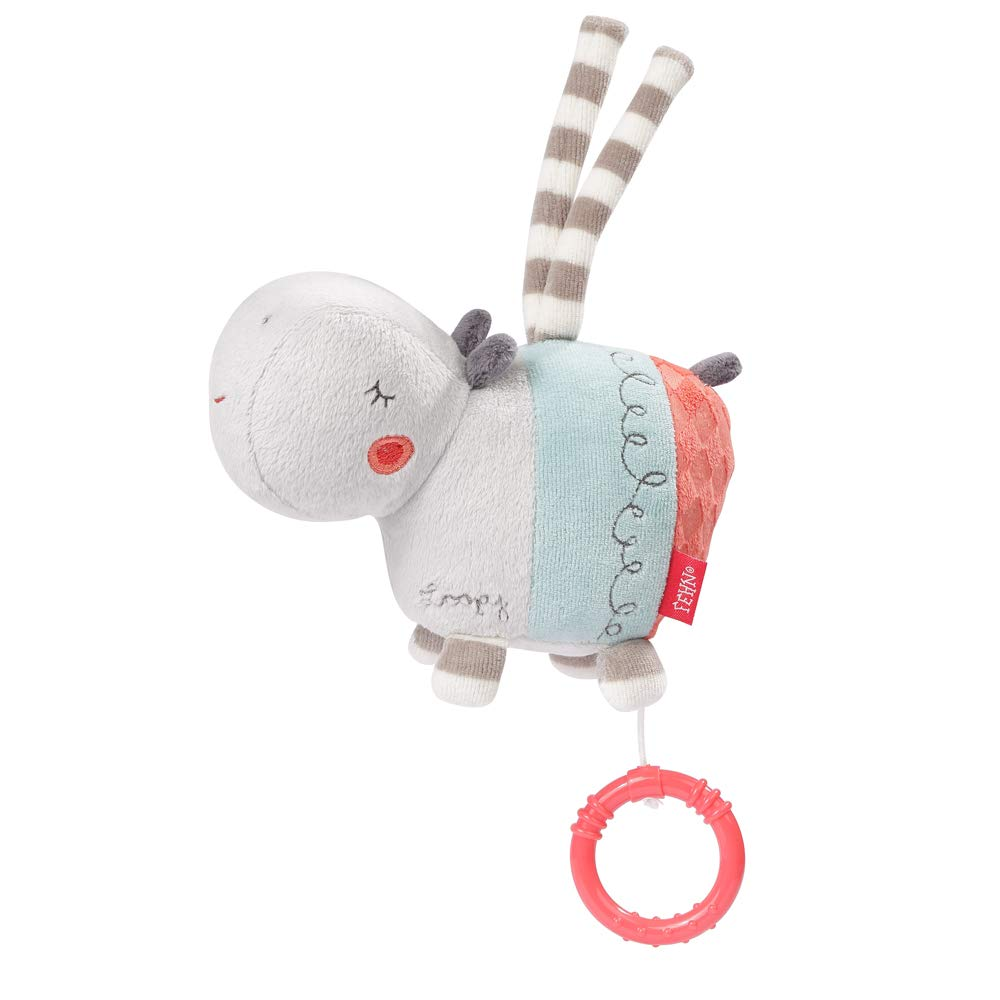 FEHN 059076 Musical Box Max 41% OFF Hippo Cuddly Gent and Toy The Sleep aid: OFFicial shop