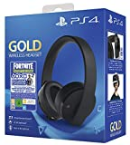 PlayStation 4 - Gold Headset + Fornite Vch (2019) [Importación...