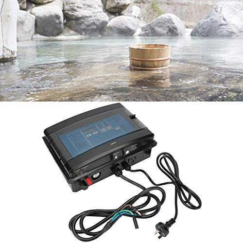 Redxiao Sistema de clorador de Sal de 220 V, generador de Cloro electrolítico, Equipo de Tratamiento de Agua para Piscina y hogar(EU Plug)