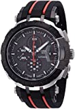 Tissot T-Race MotoGP Black Dial SS Rubber Automatic Men's Watch T0924272706100
