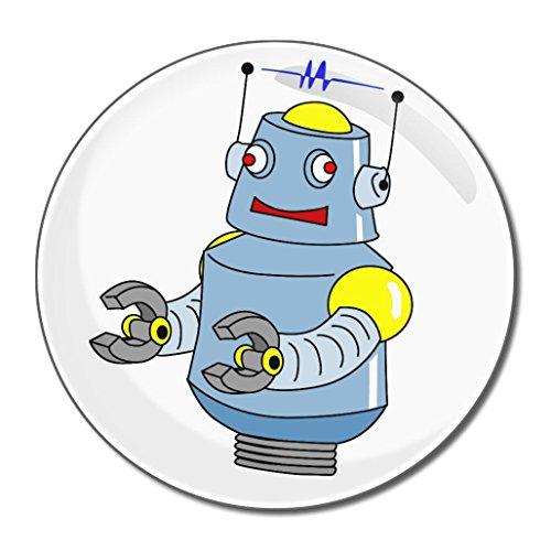 White Boy Robot - Miroir compact rond de 77 mm