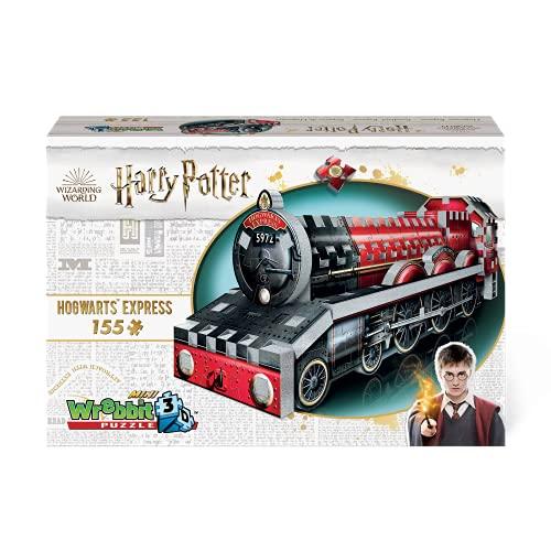 WREBBIT 3D Harry Potter – Hogwarts Express Mini 3D Jigsaw Puzzle - 155 Pieces (W3D-0201)