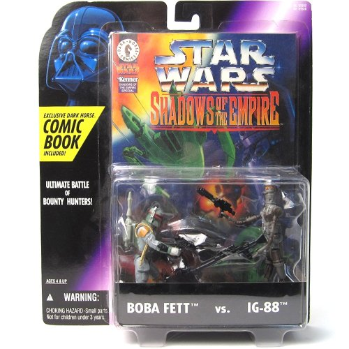 Boba Fett vs. IG-88 Shadows of the Empire