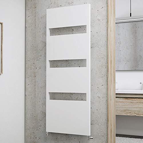 Schulte H613 04 Turin Badheizkörper, alpinweiß, 154 x 60 cm