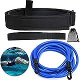 TOBWOLF Swim Training Belt, 4M/13FT Swim Tether...