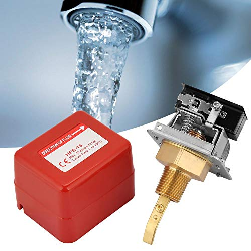 Durchflussregelungsschalter Wasserdurchflussregelungsschalter Paddel-Durchflussschalter Wasser-Paddel-Durchflussschalter Wasserdurchflussschalter zur Flüssigkeitsmessung