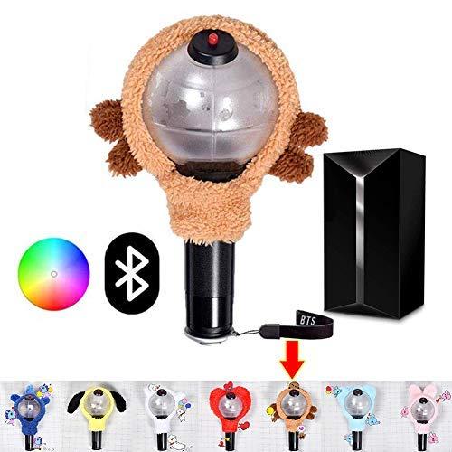 Hongping BTS Merch Armee Bombe Blautooth Abgespeckte Version 3 Konzert Unterstützung / Sammlung Laterne Fan Geschenk Rod Drei Generations-Stick