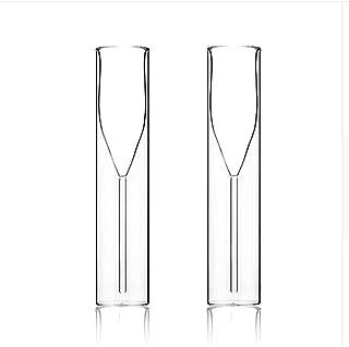 JINYAN am-PM Bodulum Double Mur Buvant Verre Champagne Lunettes flûtes Bars Bar Bubble vin Tulipe Cocktail Tasse de Cockta...