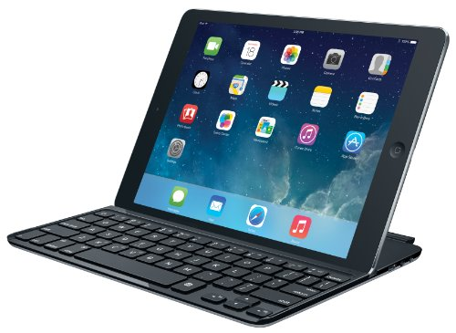 Logitech Ultrathin Magnetic Clip-on Keyboard Cover for iPad Air, Space Grey - http://coolthings.us
