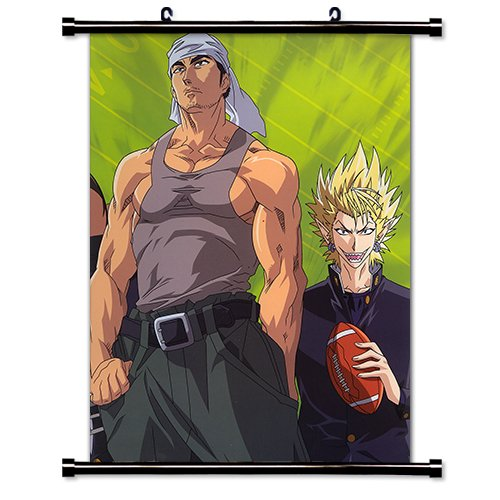 Eyeshield 21 Anime Fabric Wall Scroll Poster (32 x 44) Inches