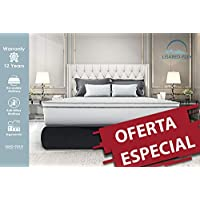 Lisabed Flex – Pack Colchón_2 Almohadas - 190x90 - Bull-Flex Memory-Soft, núcleo Fresh Natur, Gama Prestige Hotel, 16cm