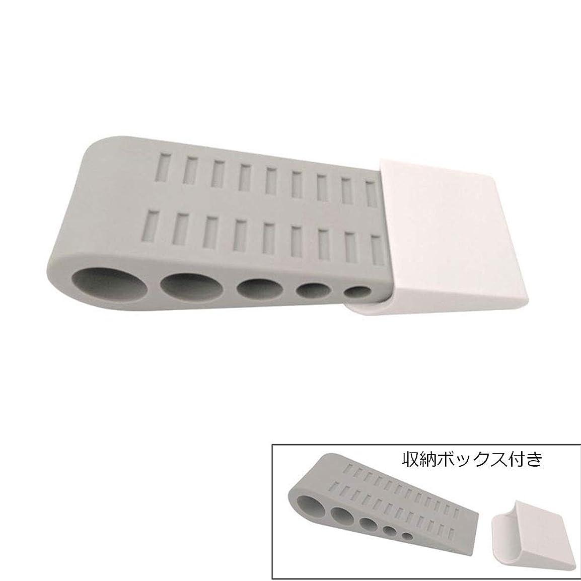 電圧味方汚いドアストッパータンククローラー形状、子供の安全保護ドアストップ、TPR素材固定ドアカード グレー-1個