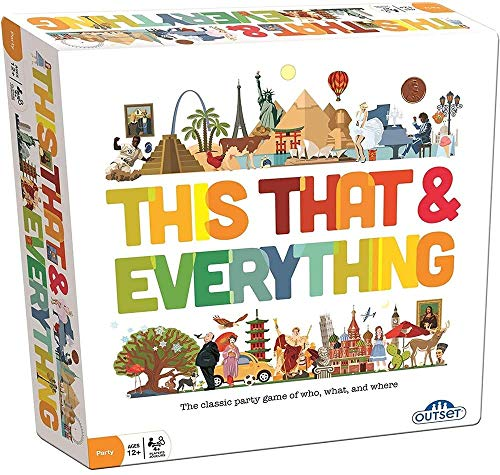 This That & Everything Card Game - Fast Paced, Rapid Fire Card Game - Describe People, Places, Things - Includes 396 Cards - Ages 12 and Up