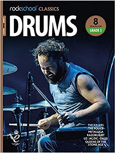 Rockschool Classics Drums Grade 3 2018