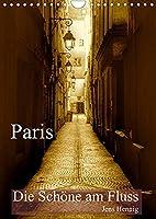 Paris - Die Schoene am Fluss (Wandkalender 2022 DIN A4 hoch): Paris auf den zweiten Blick im nostalgischen Sepia (Monatskalender, 14 Seiten )