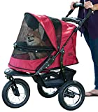 Pet Gear No-Zip Jogger Stroller, premium quality stroller ideal for jogging and running