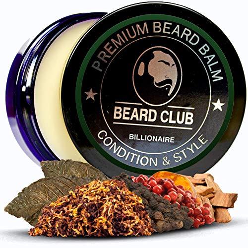 Balsamo per Barba Premium   Billionaire   Il Miglior Balsamo e Emolliente per Barba   100% Naturale & Organico   Ottimo per la Cura dei Capelli e la Crescita