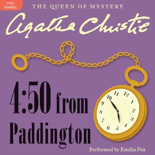 4:50 from Paddington audiobook cover art