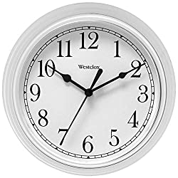 Westclox Wall Clock 9 White