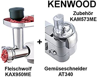 Kenwood 凯伍德 kam573me 2 件套配件 机器人碎肉机和蔬菜切碎机