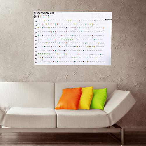 Moobom『2020年スケジュール壁掛けカレンダー』