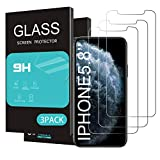 HOMEMO for Apple iPhone 11 Pro/iPhone Xs/iPhone X Screen Protector 3 Pack 5.8...