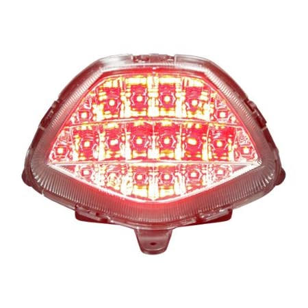 LED Taillight with Integrated turn signals for Honda CBR 125 250 300 2011//2016 Clear