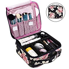 ★NEW VERSION★Material: Exterior durable high density nylon - Water-resistant and easy to clean. Pink polyester stripe lining - smooth and nice touch.Interior removable divider and extremely protective built-in foam - excellent protection. Dual zipper...