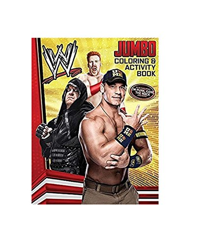 Bendon Publishing WWE 64 Page Coloring and Activity Book