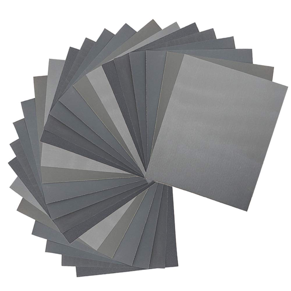 3.66 in 6 Sheets-Pack x 9 in 60 Grit Coarse Advanced Sanding Sheets