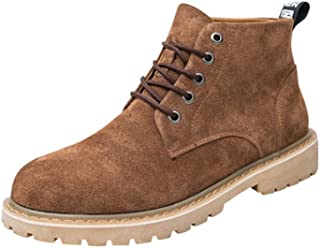 Dr. Martin Unisex Boots Trendy leather boots British thick bottom leather boots mid-top tooling boots solid color non-slip ankle boots thickened lace-up short boots multi-color optional