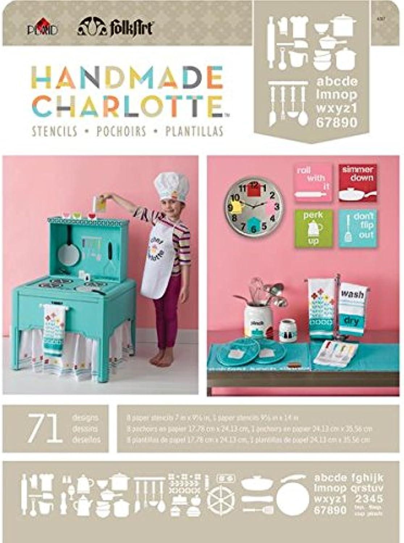 Plaid  Craft Handgefertigt Charlotte Papier Schablonen Blautooth X 9.5-inch-Kitchen Cuisine 71 Designs B00KKV067Q     | Abgabepreis