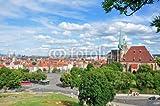 Wunschmotiv: Altstadt von Erfurt mit tollen Wolken