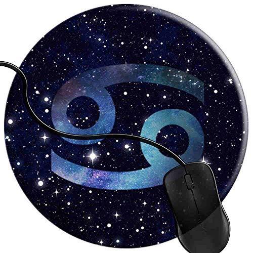 QCFW Tapis de Souris Horoscope Astrologique de la Galaxie de l