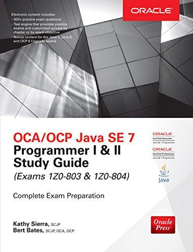 OCA/OCP Java SE 7 Programmer I & II Study Guide (Exams 1Z0-803 & 1Z0-804) (Certification Press) (English Edition)