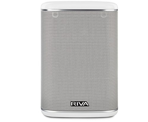 RIVA Arena White - Altavoz Multiroom Wi-Fi, Bluetooth, Chromecast, Airplay, Google Home DNLA 50W Blanco