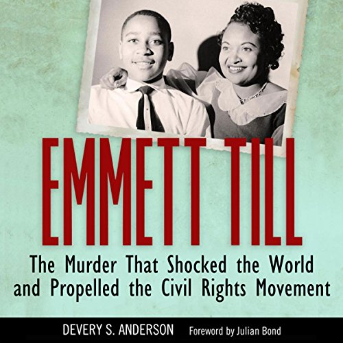 Emmett Till audiobook cover art
