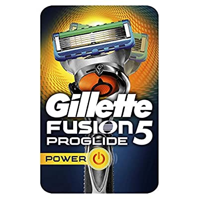 Gillette FUSION5 Proglide Power Razor for Men QTY: 1
